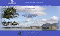 Web design - BurnBank Cottage, B&B in Kinross