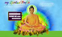 Web design - My Spiritual Profile