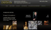 Web design - Homes by Oyster, Scotland